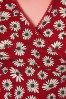 King Louie Icon Red Daisy Cross Dress 100 27 20280 20170214 0004