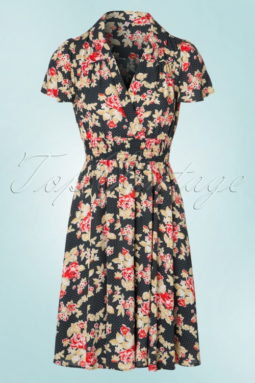 Blutsgeschwister Strict Marlie Floral Dress 102 14 19659 20170321 0002W