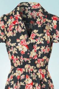 Blutsgeschwister Strict Marlie Floral Dress 102 14 19659 20170321 0002V