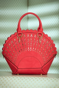 30s Adana Art Deco Handbag in Red