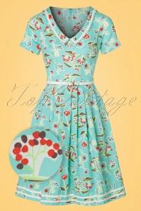 Blutsgeschwister Muggelsee Floral Dress 102 39 19662 20170321 0006wv