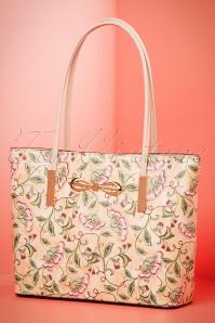 La Parisienne Abricot Floral Handbad 212 29 21647 03202017 020W