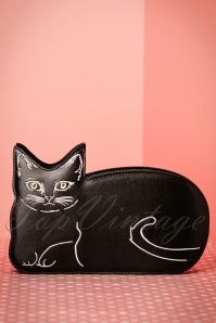 50s Kitty Kat Bag in Black