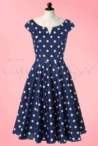 Bunny Nicky 50s Polkadot Swing Dress 102 39 21677 20170322 0017pop