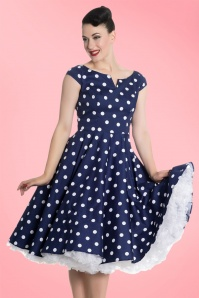Bunny Nicky 50s Polkadot Swing Dress 102 39 21677 20170322 001