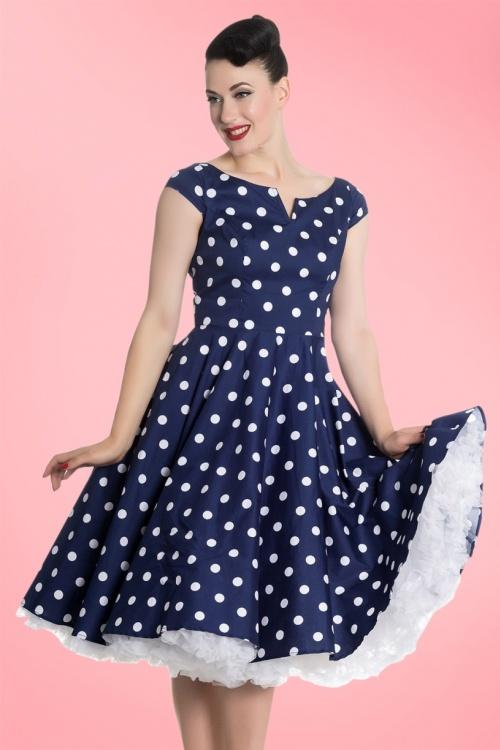 Bunny Nicky 50s Polkadot Swing Dress 102 39 21677 20170322 001