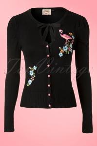 Banned  Black Flamingo Cardigain 140 10 12744 20140305 0003 FrontW