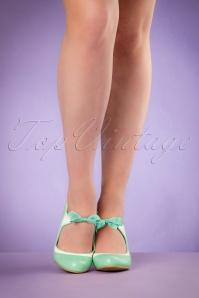 Lulu Hun Jeannie High Heel Pump in Mint 402 40 21748 02212017 12W