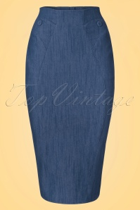 Miss Candyfloss Denim Pencil Skirt 120 20 20626 20170323 0003