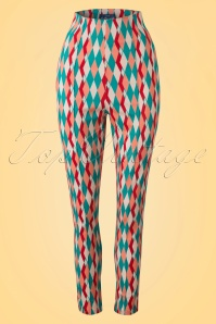 Collectif Clothing Bonnie Atomic Harlequin Pants 20655 20161201 0006W