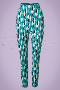Collectif Clothing Bonnie Atomic Harlequin Pants 20654 20161201 0003W
