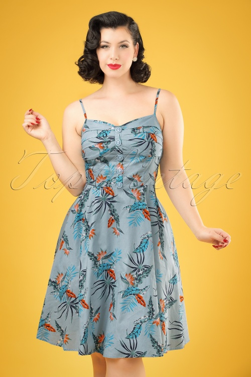 Collectif Clothing Fairy Bird Of Paradise Doll Dress 20700 20161129 1W