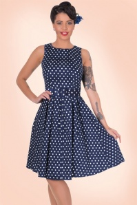Dolly and Dotty Lola Classic Dress in Blue 102 27 18323 1