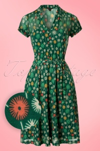 King Louie Emmy Green Dress 102 49 20180 20170221 0006W1
