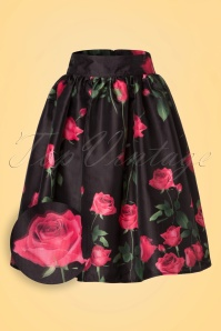 Vixen Nellie Black Roses Skirt 122 14 20462 20170324 0002V