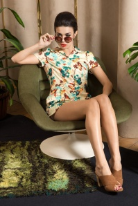 Vixen Dakota Beige Tropical Playsuit 132 58 20500 20170324 3