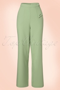 Vixen Sadie Green Trousers 131 40 20485 20170324 0005W