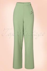 Vixen Sadie Green Trousers 131 40 20485 20170324 0005W