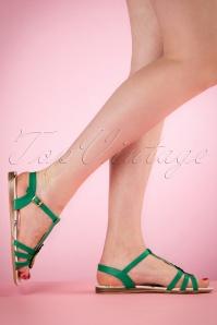 Lulu Hun Lottie Pinapple Sandal 420 40 20871 03222017 004W