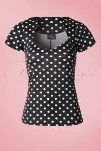 Steady Clothing Polkadot Sophia Top 111 14 14299 20141125 0004WB