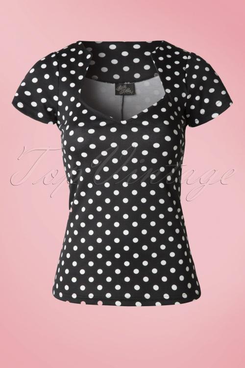 Steady Clothing Polkadot Sophia Top 111 14 14299 20141125 0004WB