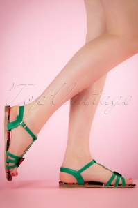 Lulu Hun Lottie Watermelon Sandal 420 40 20870 03222017 003W