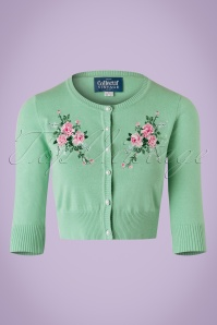 Collectif Clothing Lucy Romantic Floral Cardigan 20751 20161130 0002w