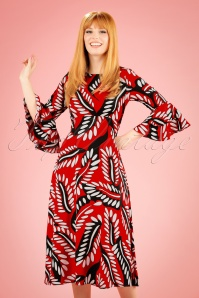 Traffic People 70s Red Maxi Dress 108 27 19873 20170210 0011W