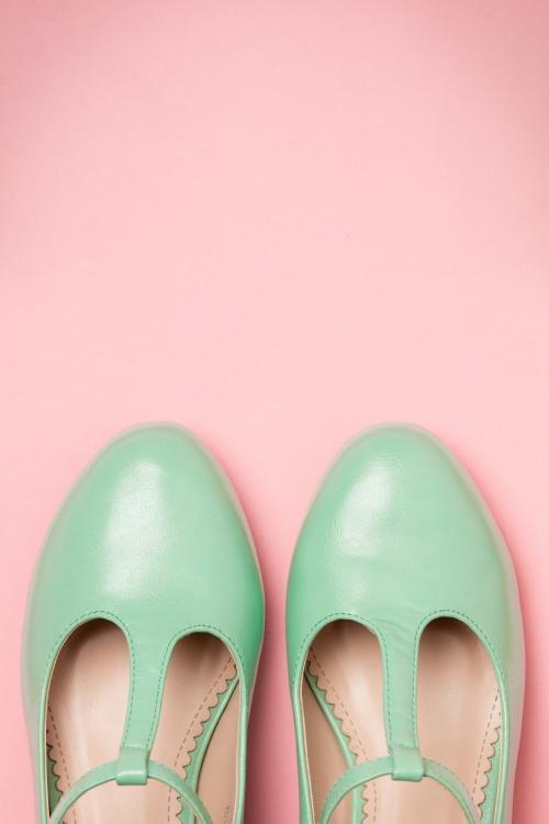9e1b94873bf Lulu Hun Aqua Chrissie Block Heel Shoes 401 30 20862 03222017 017