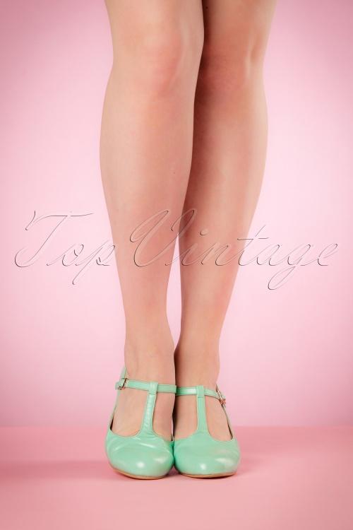 d773924bbb3 Lulu Hun Aqua Chrissie Block Heel Shoes 401 30 20862 03222017 006W
