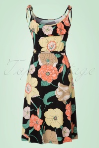 King Louie Viola Black Floral Dress 106 14 20288 20170328 0007W