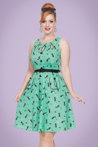Vixen 50s Cat Dress 102 49 20442 1