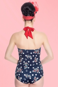 Bunny St Tropez 50s Anchors Swimsuit 161 39 21031 01a