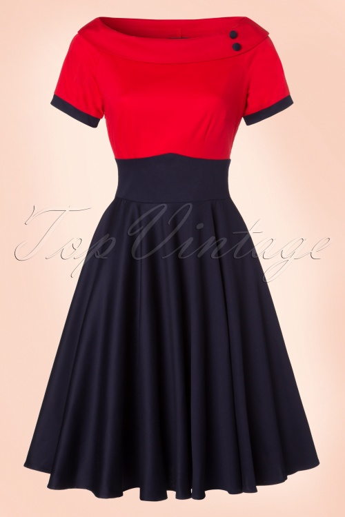 Dolly and Dotty Darlene TopVintage Exclusive Swing Dress 102 31 21756 20170328 0016W