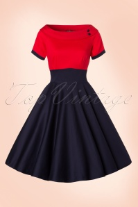 Dolly and Dotty Darlene TopVintage Exclusive Swing Dress 102 31 21756 20170328 0004W
