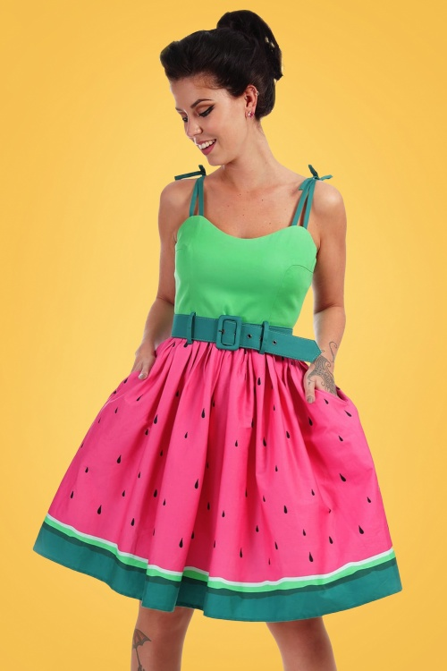 c1fd978bc1747 Collectif Clothing Jade Watermelon Swing Dress 20702 20161129 0028 model03