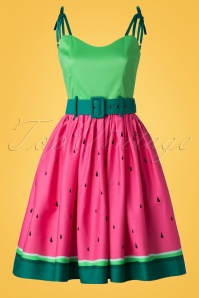 Collectif Clothing Jade Watermelon Swing Dress 20702 20161129 0027W