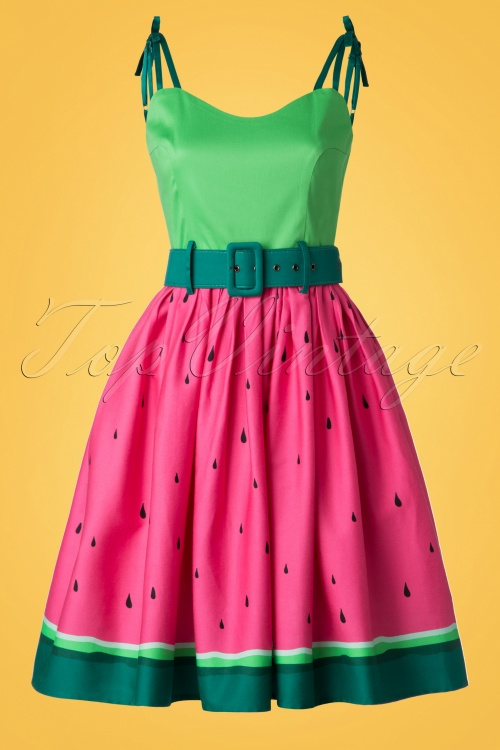 36d51f96bbb69 Collectif Clothing Jade Watermelon Swing Dress 20702 20161129 0027W