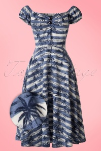 Collectif Clothing Dolores Mahiki Doll Dress 20697 20161129 0025bW