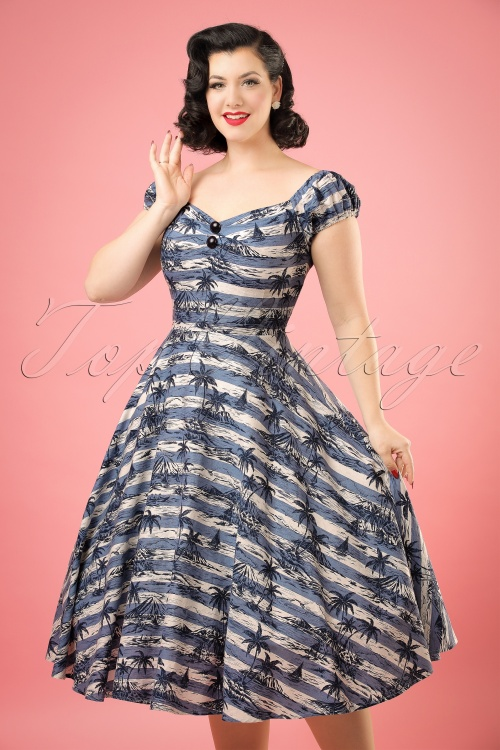 Collectif Clothing Dolores Mahiki Doll Dress 20697 20121224 0001bW
