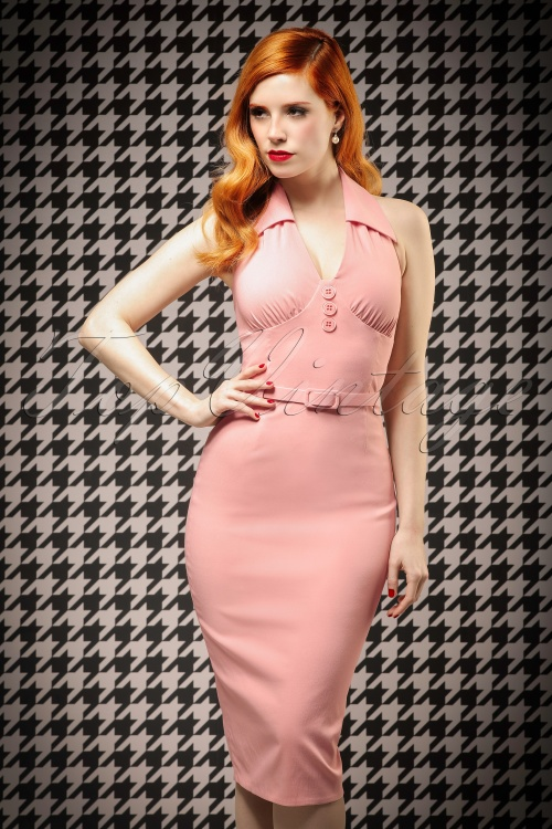Vintage Diva Rose Dress Vanessa 01w