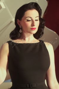 Vintage Diva The Coco Dress in Black 20589 20170227 0008w