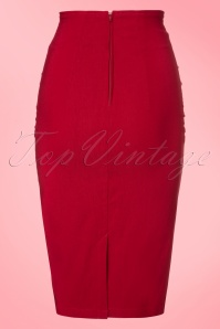 Steady Clothing TopVintage Exclusive Vivian Wiggle Skirt in Red 120 20 20773 20170329 0009W