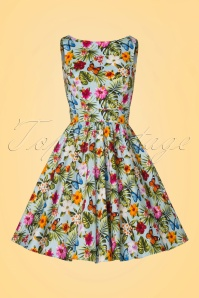 Lady V Summer Floral Tea Swing Dress 102 39 21196 20170329 0002W