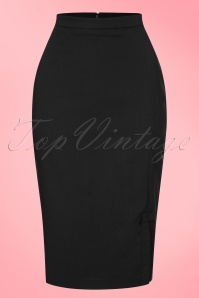 Fever Ashcott Pencil Skirt in Black 120 31 20067 20170329 0002W