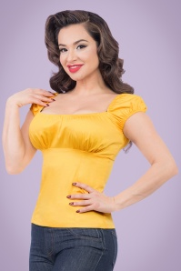 Steady Clothing Bonnie Bump Top in Yellow 110 80 20745 20170327 0002a