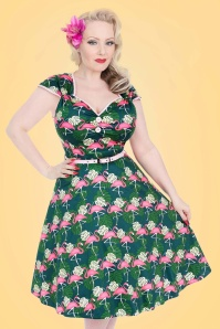 Lady V Isabella Flamingo Swing Dress 102 49 21250 20170331 0012
