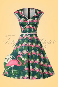 Lady V Isabella Flamingo Swing Dress 102 49 21250 20170331 0011wv