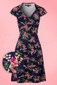 King Louie Gina Dress in Ink Blue 113 39 20256 20170214 0002wv