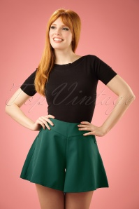 Vixen Green Shorts 130 40 20488 20170306 0012W